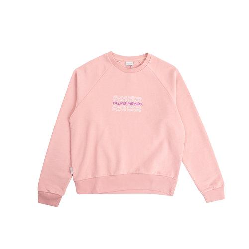SS21 Crewneck Soft Pink Wavey Text 82013641690
