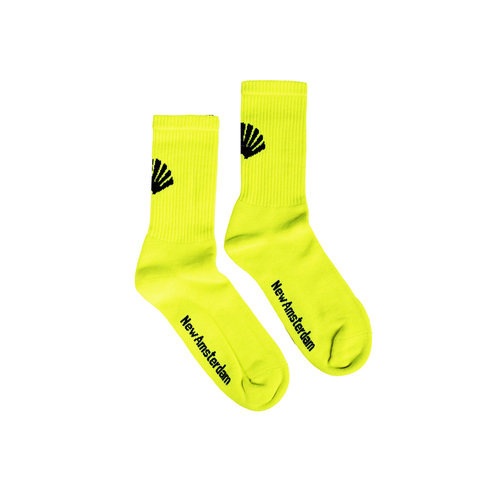 Logo Sock Neon Green 2021085