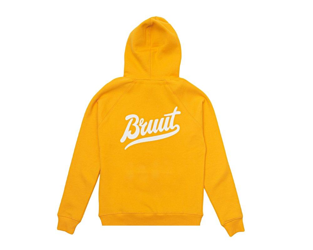 Bruut Essential Hoodie Saffron BT1000 005