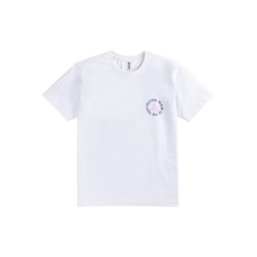 In The Realm Single Cotton Tee White F0054