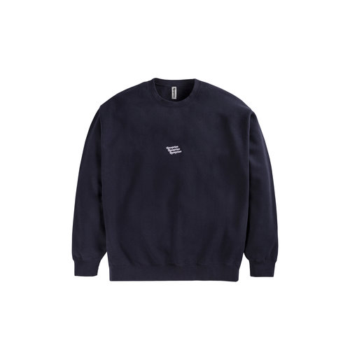 Cotton Brush Club Sweater DK Navy CP0002