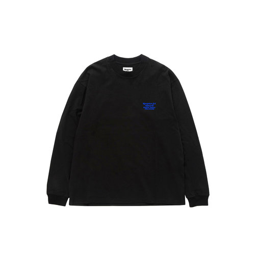 Trench Pen Single Cotton Jersey Black RSC0022