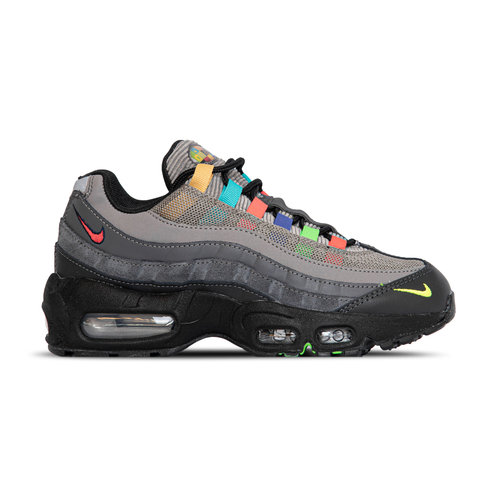 Wmns Air Max 95 SE Light Charcoal University Red DD1502 001
