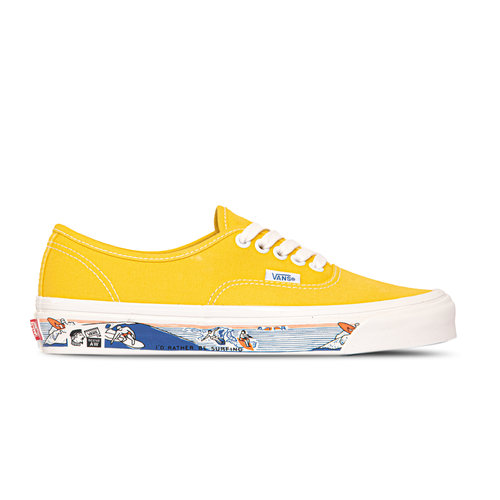 Authentic 44 Dx Anaheim Factory Og Yellow Scene Aw VN0A54F241Q1