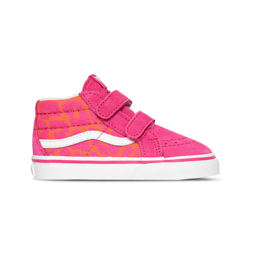 Sk8 Mid Reissue V Neon Animal Leopard Pink TD VN0A5DXD34L1