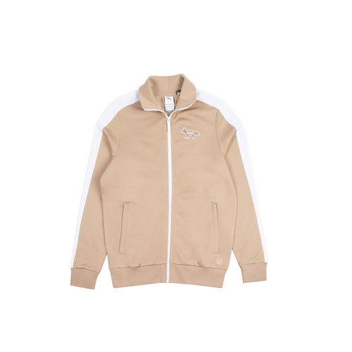 x Maison Kitsune T7 Track Top Travertine 530427 96