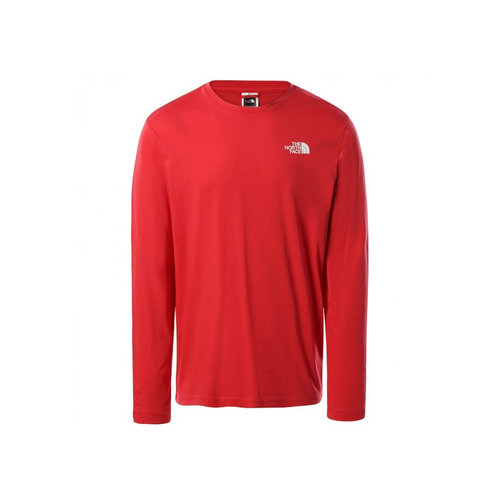 Longsleeve Easy Tee Rococco Red NF0A2TX1V341