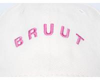 Bruut Arch Logo Cap Off White Mauve BT9010 003