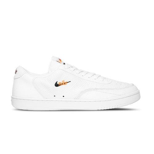 Wmns Court Vintage White Black Total Orange CW1067 100