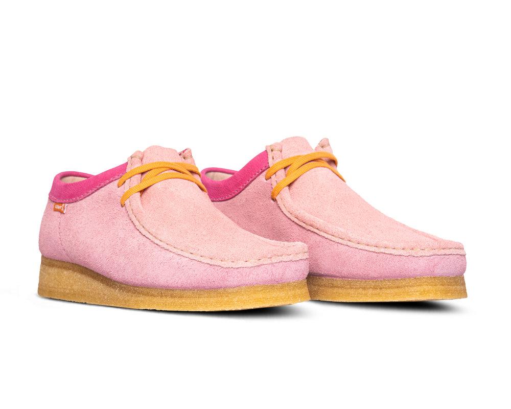Clarks Originals x Levis Wallabee Pink Combi 26160322