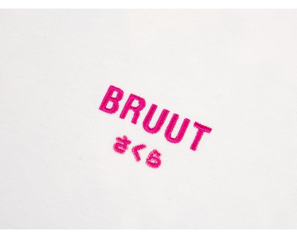 Bruut The Hanami Tee Off White BT1070 001