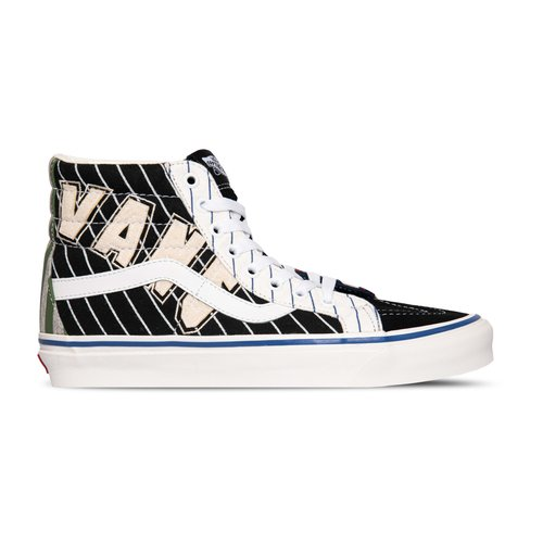 SK8 Hi 38 Dx Anaheim Factory Patch Work League True White VN0A38GF4GE1