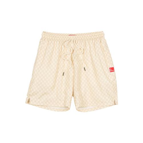 Monogram Shorts Creme TNO100