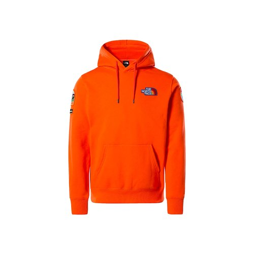 Patch Hoodie Flame Orange NF0A55UGV3Q