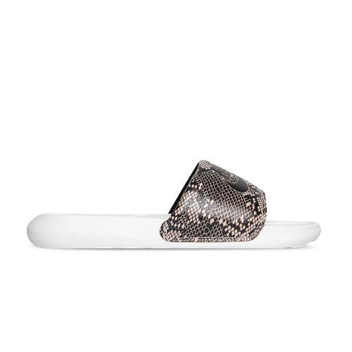 Victori One Slide Print Desert Sand Black Summit White CN9676 007