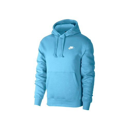 NSW Club Fleece Hoodie Cerulean White BV2654 424