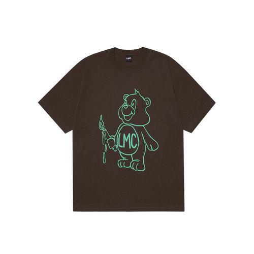 Candle Bear Tee Brown LMC2068