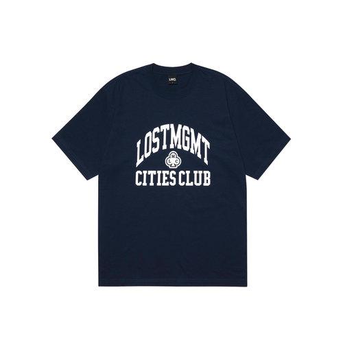 Club Athletic Tee Navy LMC2069