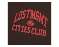 LMC Club Athletic Tee Brown LMC2071