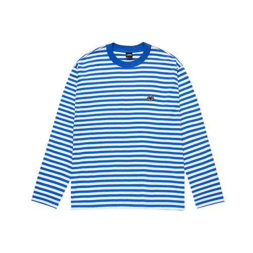 Club Stripe Longsleeve Tee Blue LMC2076