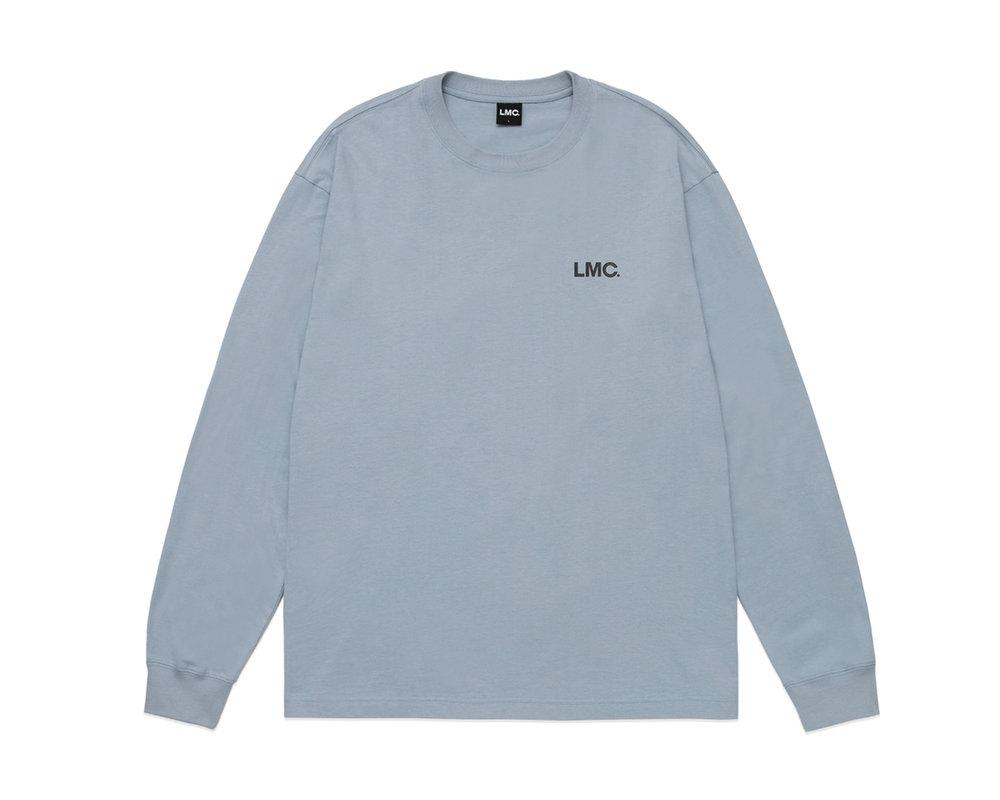 LMC Basic OG Longsleeve tee Blue Grey LMC2083