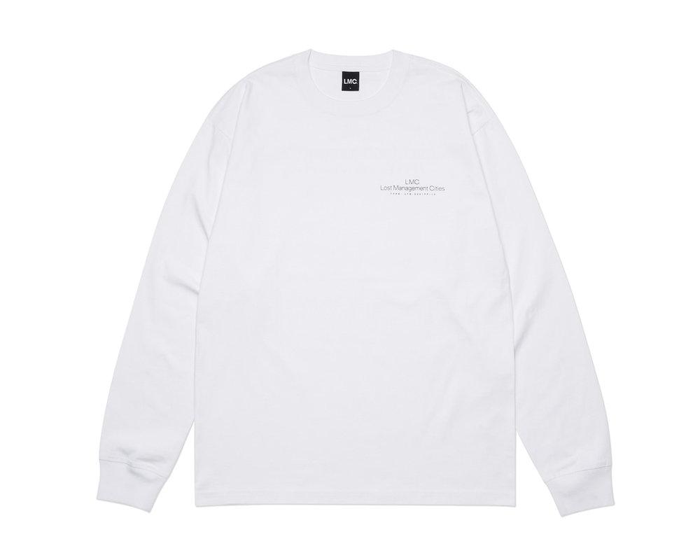 LMC Thin Logo Longsleeve White LMC2085