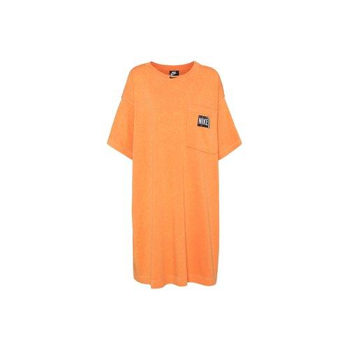 NSW Sportswear Wash Dress Atomic Orange Black CZ9862 858