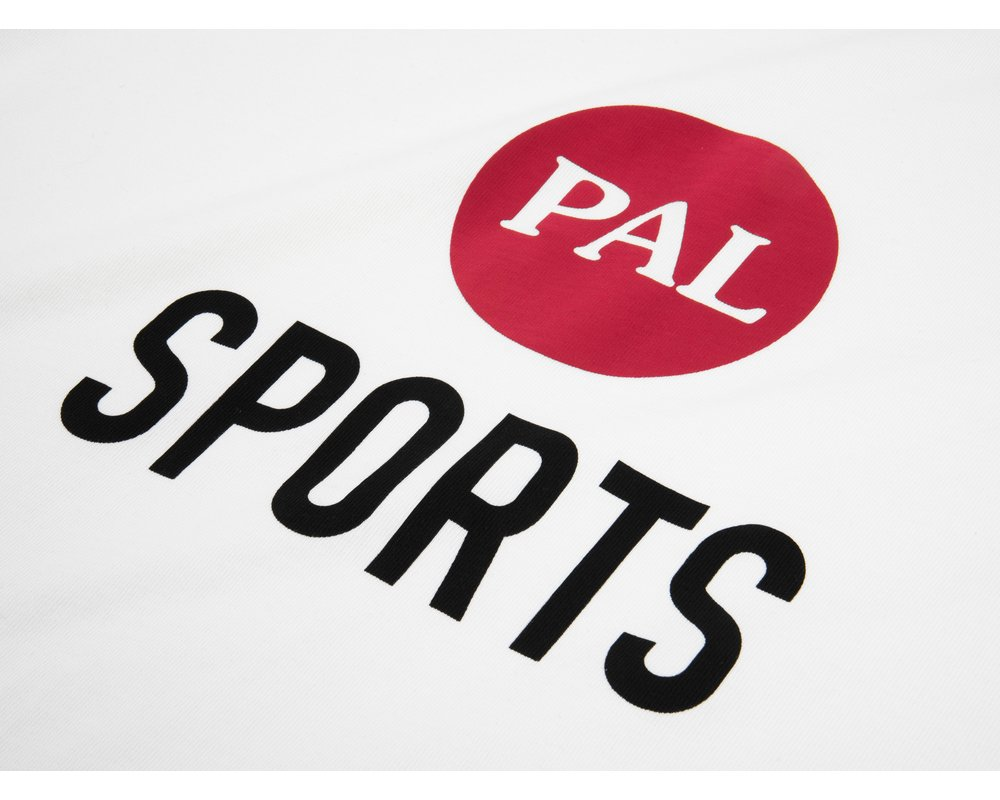 PAL Sporting Goods Broadcast logo T Shirt Off The Grid White PAL2021008