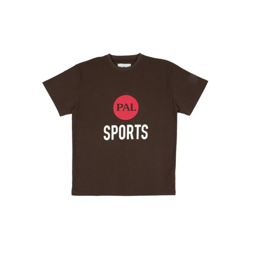 Broadcast logo T Shirt Deep Brown PAL2021009