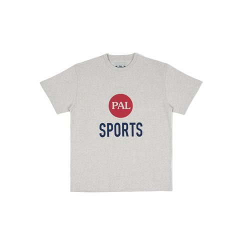Broadcast logo T Shirt Light Gray Marl PAL2021007