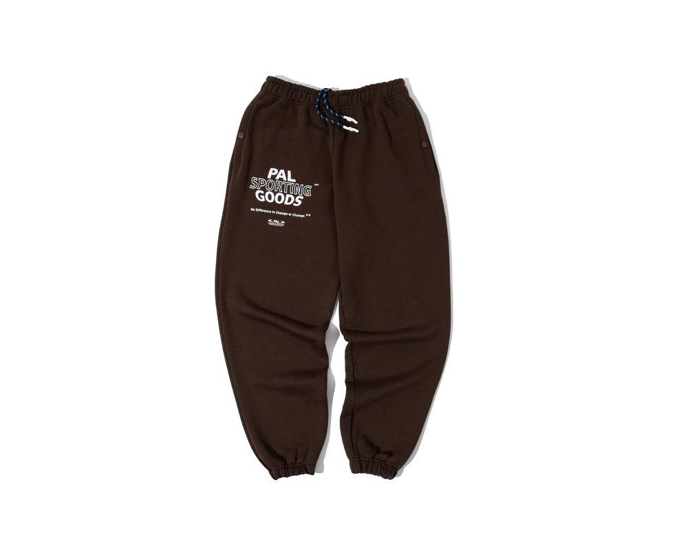 PAL Sporting Goods Varsity Sweatpants Deep Brown PAL2021028