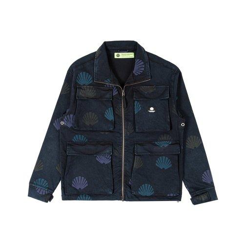 Utility Jacket AOP Black 2021069