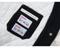 PAL Sporting Goods Varsity Jacket Deep Navy Marshmellow PAL2021021