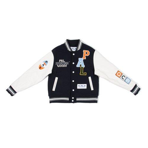 Varsity Jacket Deep Navy Marshmellow PAL2021021