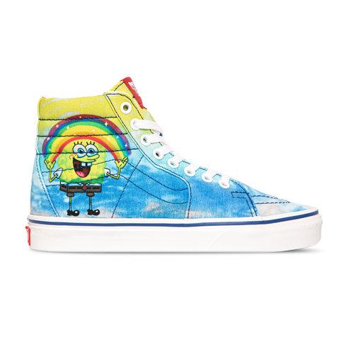 x Spongebob Sk8 Hi Imagination Blue VN0A32QGZAW1