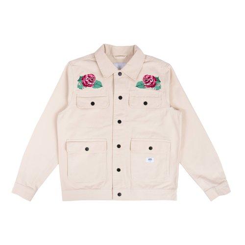 Anaheim Needlepoint Floral Jacket Natural VN0A5FQ77VJ1