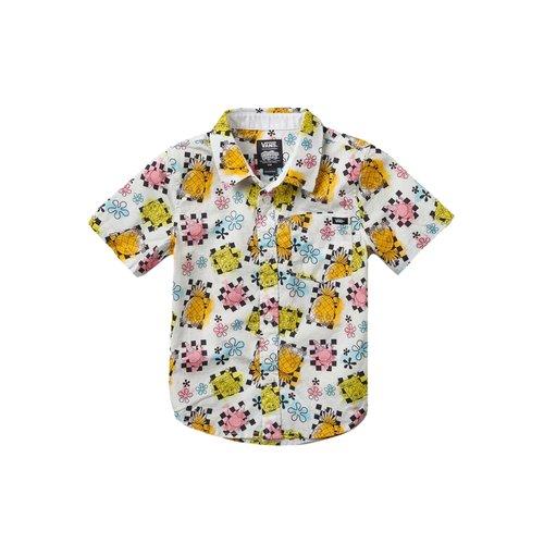 x Spongebob Airbrush Buttondown Blouse Kids VN0A5KK3ZAS