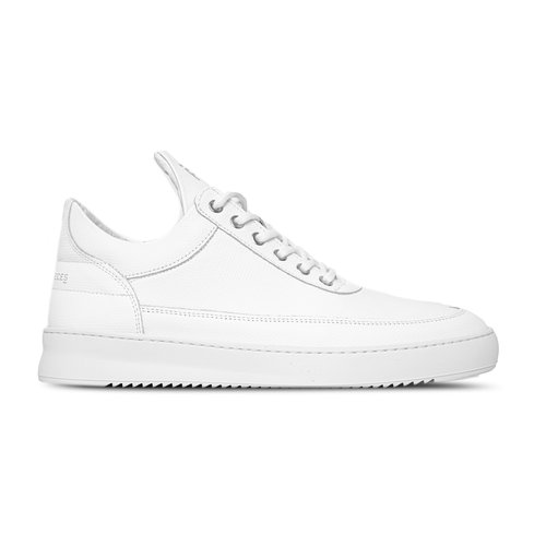 Low Top Ripple Crumbs All White 25127541855