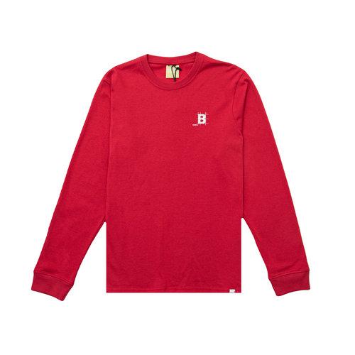 Blueprint Longsleeve True Red BT1020 011