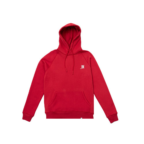 Blueprint Hoodie True Red BT1020 004