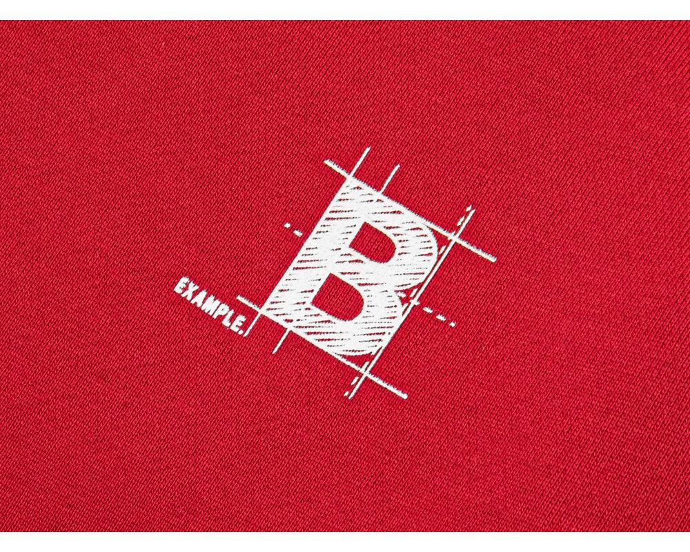 Bruut Blueprint Hoodie True Red BT1020 004