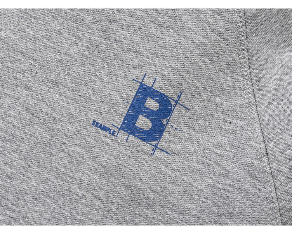 Bruut Blueprint Hoodie Grey BT1020 002