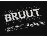 Bruut Blueprint Tee Black BL1020 02