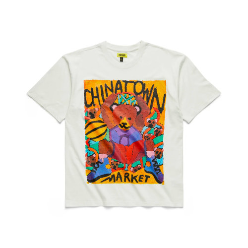 Dunking Bear Watercolor Tee Creme CTM1990539 1228