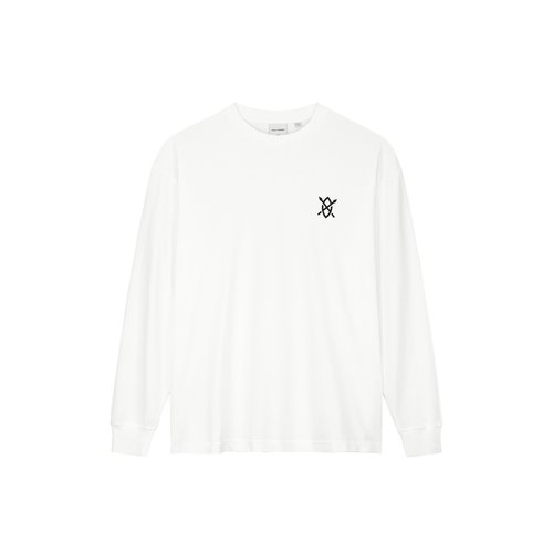 Amsterdam Store Longsleeve White 1000093