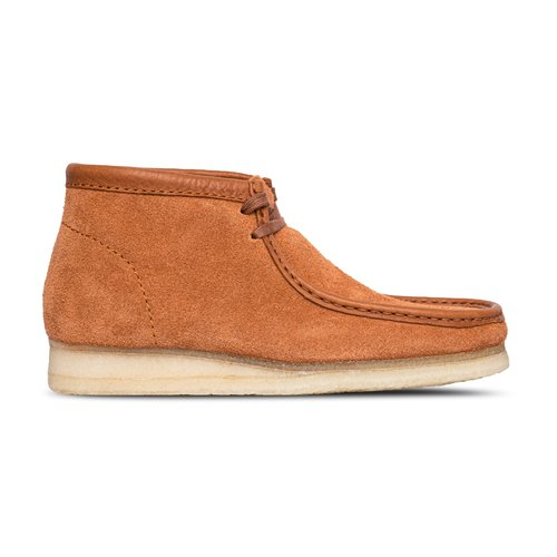 Wallabee Boot Tan Hairy Suede 26154818