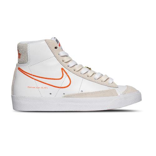 W Blazer Mid '77 SE White Orange Summit Sail DH6757 100