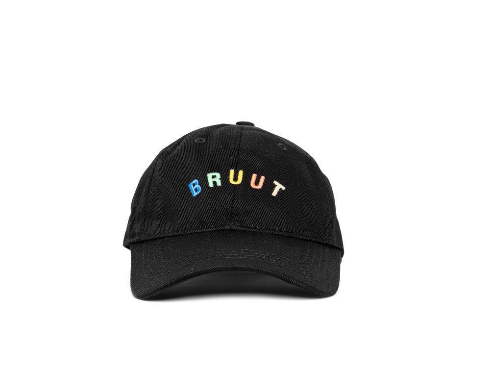 Bruut Arch Logo Cap Black Multi BT9010 005