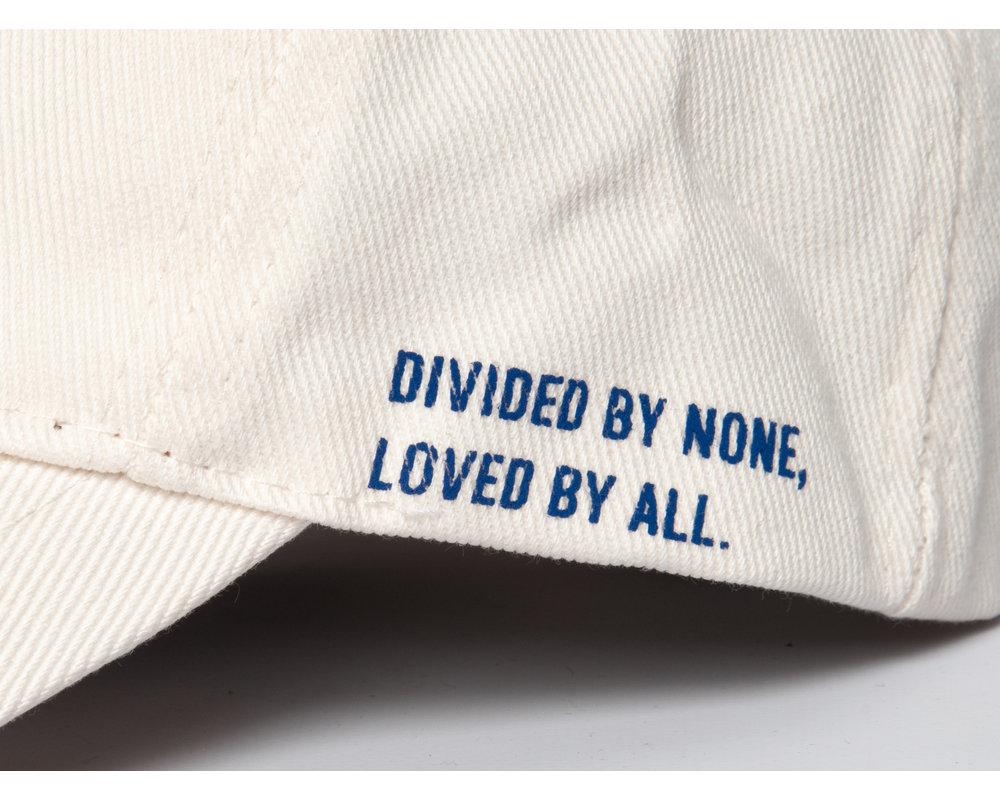 Bruut Arch Logo Cap Off White Blue BT9010 002
