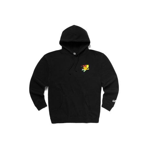 X The Simpsons Devil Arc Hoodie Black CTM1970066 0001